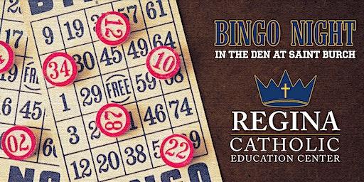 Bingo Night in The Den at Saint Burch | Regina Fundraiser