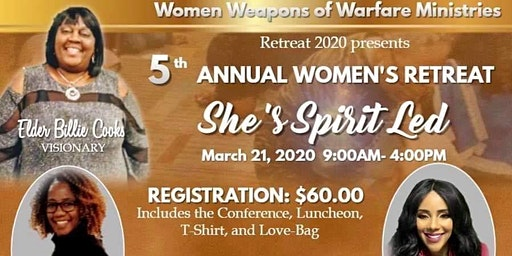 5th Annual Womens Retreat She's Spirit Led