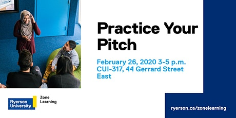 Practice Your Pitch tickets