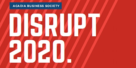 DISRUPT 2020 tickets