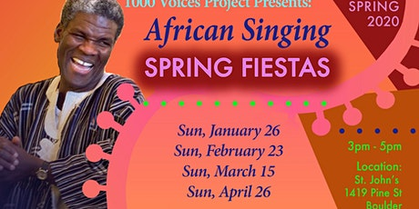 Feb 23rd • African Singing Fiesta • 1000 Voices Project tickets