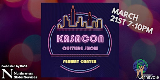 KASACON: Co-hosted by the KASA