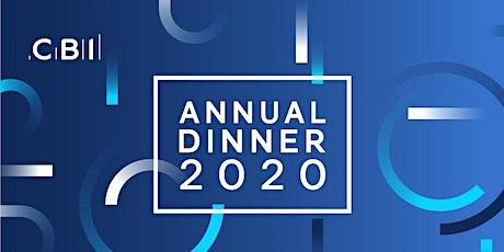 CBI West Midlands Annual Dinner 2020 tickets