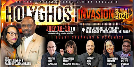 Holy Ghost Invasion Summit 2020 tickets