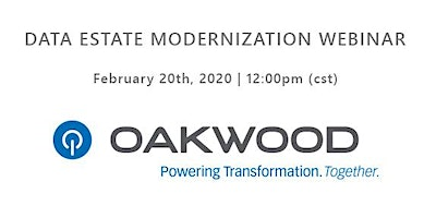 Data Estate Modernization Webinar