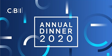 CBI Yorkshire and the Humber Annual Dinner 2020 tickets