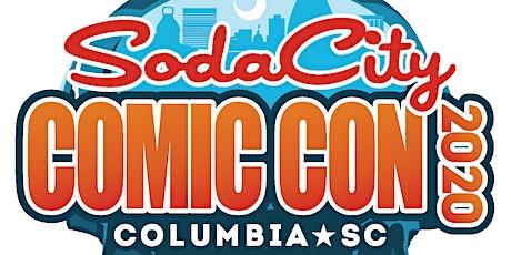 Soda City Comic Convention 2020 tickets