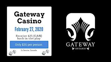 Bus Trip to Starlight Casino in Sarnia (Formerly Gateway Casino)