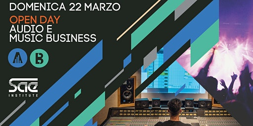 Open Day corsi Audio, Produzione Musicale e Music Business