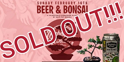 Couples Beer and Bonsai at Neshaminy Creek Taproom