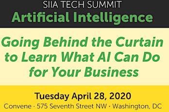 SIIA Tech Summit on Artificial Intelligence tickets