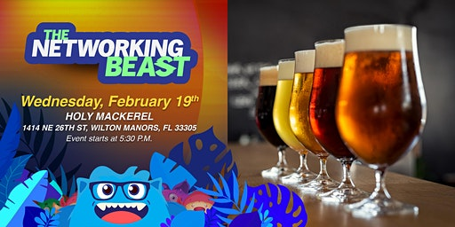 The Networking Beast - Come & Network With Us (Holy Mackerel) Wilton Manors