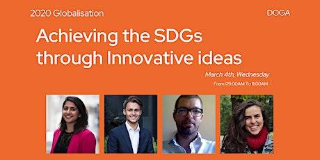 Achieving the SDGs through Innovative ideas tickets