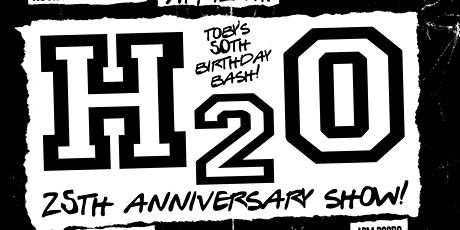 H2O 25th Anniversary Show w/ Wisdom in Chains, Field Day, Be Well, Rend tickets