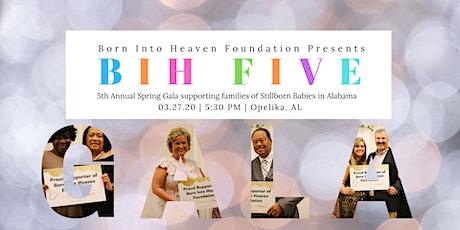 BIH FIVE - Spring Gala tickets
