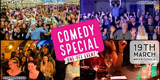 Comedy Special at Waterlooville!