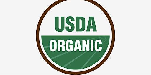 Organic Certification Workshop