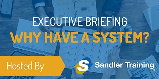Sales Executive Briefing: Why have a system?