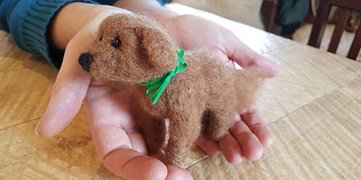 Needle Felt Your Favorite Dog
