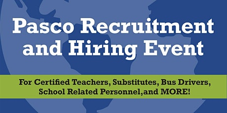 Pasco County Schools Spring Recruitment & Hiring Event tickets