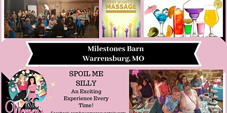 Spoil Me Silly at Milestone Barn tickets