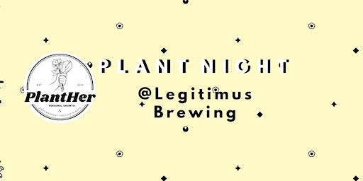 Create a Modern Spring Basket Planter- PlantHer Plant Night @ Legitimus