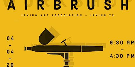 Airbrush 101 Workshop tickets