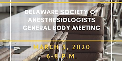 DSA General Body Meeting