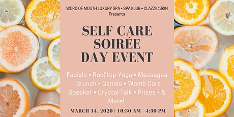 Self-Care Soirée Day Event tickets