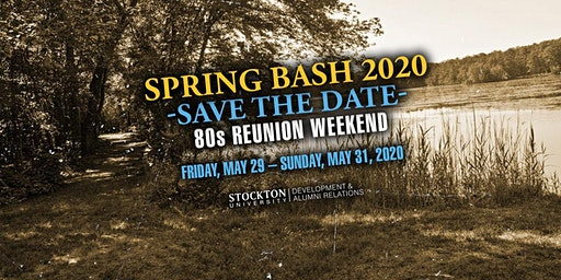 Spring Bash 2020 - 80s Reunion Weekend!