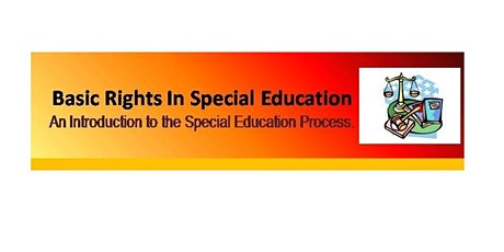 Basic Rights In Special Education - Camden County tickets