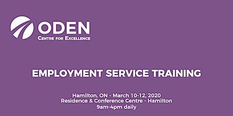 ODEN 3-Day Employment Service Training - Hamilton tickets