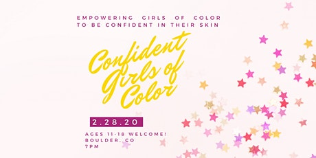 Confident Girls of Color tickets