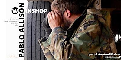 streetsmART slam: Workshop with Pablo Allison