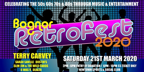Retrofest - Charity Event for Bognorphenia tickets