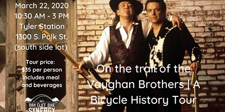 On the Trail of the Vaughan Brothers | A bicycle history tour tickets