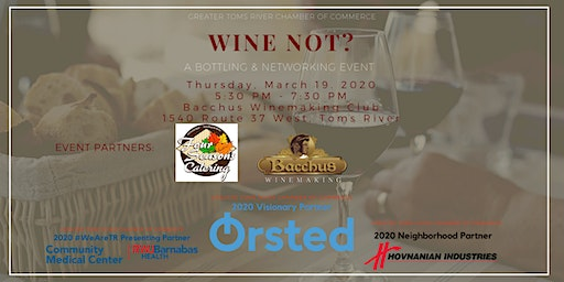 Wine Not?  A Bottling + Networking Event at Bacchus