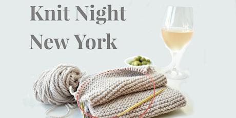 Row House Knit Night - New York tickets