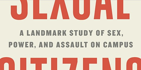 Sexual Citizens Book Talk w/Jennifer Hirsch tickets
