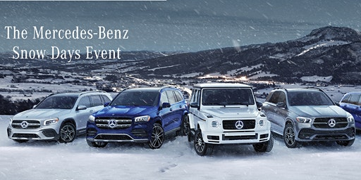 Mercedes-Benz Langley Snow Days Event