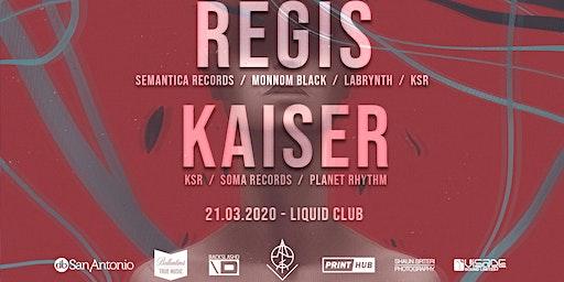 VOID: REGIS // KAISER / K.S.R LABEL NIGHT
