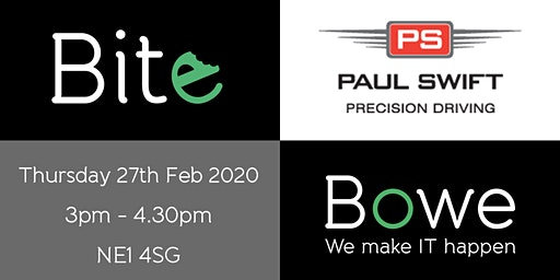 """Book for """"bite"""" & find out why we are in Top Gear - a free networking event in Newcastle"""