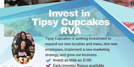 Tipsy Cupcakes RVA's Investment Social tickets