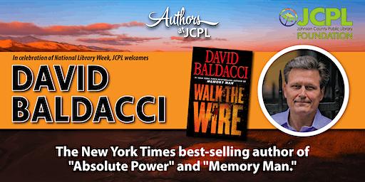 Authors at JCPL Presents: David Baldacci (plus book giveaway)