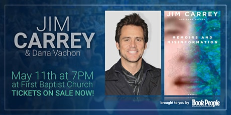 BookPeople Presents: An Evening with Jim Carrey (POSTPONED) tickets