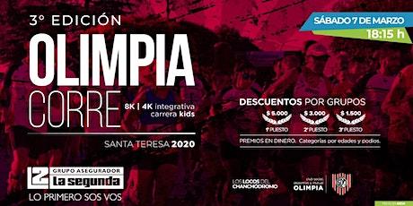 OLIMPIA CORRE 2020 - 3ra Maratón Santa Teresa entradas