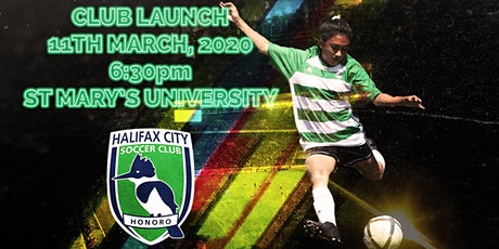 Halifax City Soccer Club Launch tickets