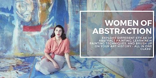 Women of Abstraction with Andrea Warren (8-Weeks)