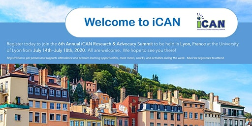 2020 iCAN Research & Advocacy Summit