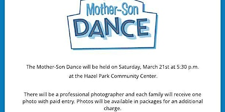 Mother-Son Dance tickets